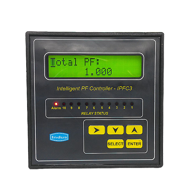 Intelligent Power Factor Controller Manufacturers Of Electronic Equipments And Control Systems Indus Electronics India P Ltd India